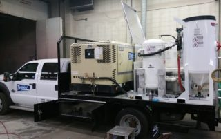 Compressors on Field Vehicle
